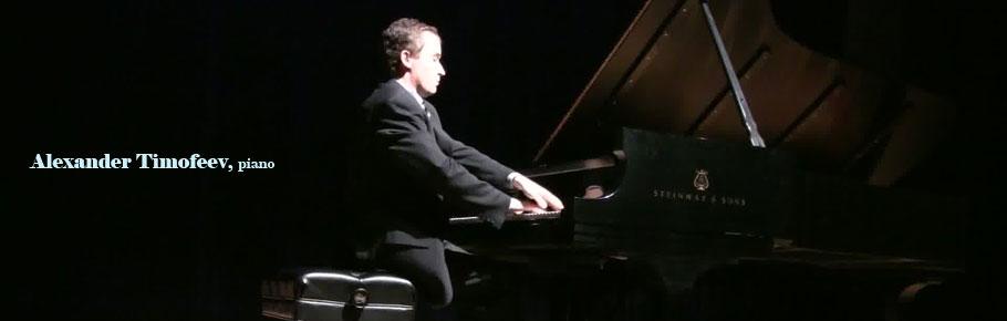 Alexander Timofeev, piano
